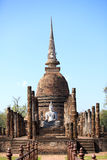 Wat Sa Si. Temple in Sukhothai Historical Park Royalty Free Stock Images