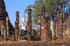 Wat Sa Si, historischer Park Shukhothai Stockfotos