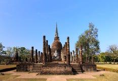 Wat Sa Si, Shukhothai Historical Park Royalty Free Stock Photography