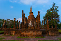 Wat Sa-Si, Sukhothai Historical Park. Royalty Free Stock Images