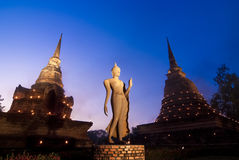 Wat Sa Si, Sukhothai Historical Park - Thai temple Stock Photos