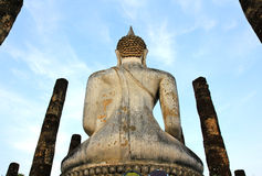 Wat Sa Si in Sukhothai Historical Park Royalty Free Stock Photos