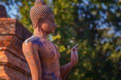 Wat Sa Si Temple en el parque histórico de Sukhothai, Tailandia Fotografía de archivo libre de regalías