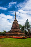 Wat Sa Si temple ruin Royalty Free Stock Photo