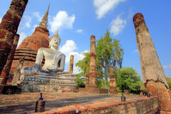 Wat Sa Si Temple in Sukhothai Historical Park Stock Photo