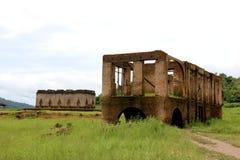 Wat Saam Prasob of de Gedaalde Tempel, het laatste resterende overblijfsel Stock Fotografie