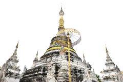 Wat Saeen Fang Royaltyfria Foton
