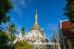 Wat Saen犬齿寺庙在清迈,泰国 库存图片