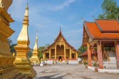 Wat Saensukkaram Immagine Stock