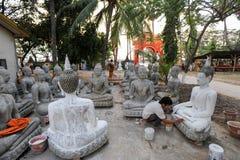 Wat Sainyaphum temple at Savannakhet, Laos Royalty Free Stock Photography