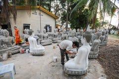 Wat Sainyaphum temple at Savannakhet, Laos Royalty Free Stock Image