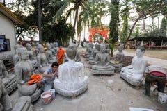 Wat Sainyaphum temple at Savannakhet, Laos Royalty Free Stock Images