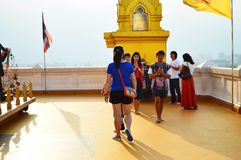 Wat Saket also Golden Mount Royalty Free Stock Photos