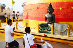 The Wat Saket also Golden Mount temple Royalty Free Stock Photos