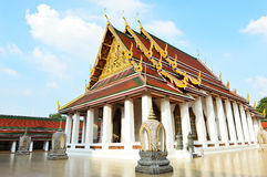 The Wat Saket also Golden Mount temple Stock Image