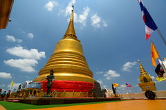 Wat Saket. Golden Mount. Bangkok. Thailand Stock Photos