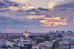 Wat Saket Ratcha. Wora Maha Wihan is a buddhist temple on the mountain in bangkok , thailand Stock Images