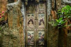 Wat Sakitaka - висок в северном Таиланде стоковые изображения rf