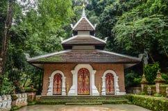 Wat Sakitaka - висок в северном Таиланде стоковое фото