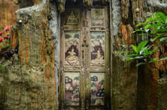 Wat Sakitaka -寺庙在北泰国 免版税库存图片