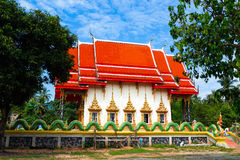 Wat  Salakphet - the temple in Thailand Royalty Free Stock Photos