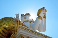 Wat samanChachoengsao område Royaltyfri Foto