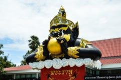 Wat Samarn in Tailandia 3 Fotografie Stock Libere da Diritti