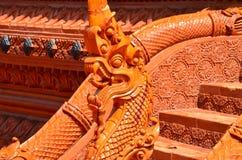 Wat Samma Chanyawat на Бангкоке Стоковые Фото