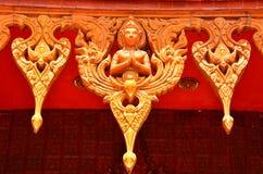 Wat Samma Chanyawat på bangkok Arkivfoto