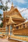 Wat Sampov Treileak in Phnom Penh, Kambodja Stock Afbeelding