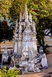 Wat Samret Ban Harn, Samui, Tailandia Foto de archivo libre de regalías