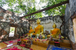 Wat Sang Kratai est 400 années de temple Photos stock