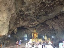 Wat-saphan tham krasea Lizenzfreie Stockfotos