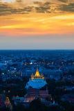 Wat Sarket called Golden Mount Temple Royalty Free Stock Photo