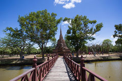 Wat SASI, Historical Park. Sukhotthai, Thailand Stock Photo