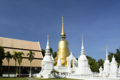 Wat Saundok ,famous temple in Chiang mai Thailand Stock Image