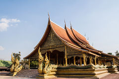 Wat Sawang Wirawong Στοκ φωτογραφία με δικαίωμα ελεύθερης χρήσης