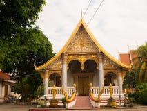 Wat Sayyaphoum arkivfoto