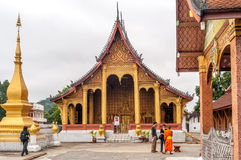 Wat Sensoukharam fotografie stock libere da diritti