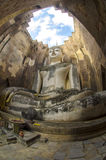 Wat Si密友在Sukhothai历史公园, Sukhothai,泰国 免版税库存图片