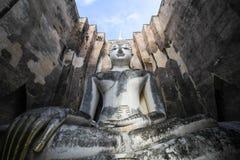 Wat Si Chum, tempio di Srichum, parco storico di Sukhothai Fotografie Stock Libere da Diritti