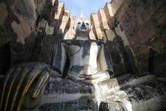 Wat Si Chum, tempio di Srichum, parco storico di Sukhothai Fotografia Stock Libera da Diritti