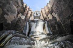 Wat Si Chum, tempio di Srichum, parco storico di Sukhothai Fotografia Stock