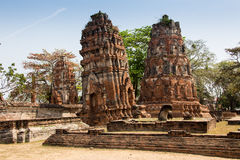 Wat Si Chum temple in Sukhothai historical park, Thailand Royalty Free Stock Photos