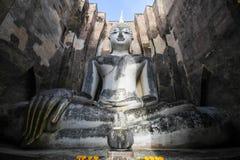 Wat Si Chum, templo de Srichum, parque histórico de Sukhothai foto de stock royalty free