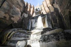 Wat Si Chum, templo de Srichum, parque histórico de Sukhothai fotos de stock
