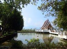 Wat Si Khom西康省 库存照片