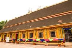 Wat Si Muang или Simuong буддийский висок расположенный в Вьентьян, столица Лаоса стоковая фотография