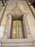 Wat Si Muang ou Simuong est un temple bouddhiste situé dans Vientian Photo libre de droits
