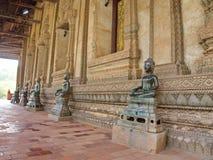 Wat Si Muang ou Simuong est un temple bouddhiste situé dans Vientian Photographie stock